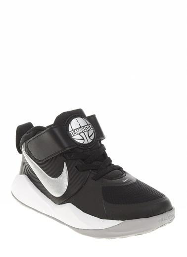 Nike Nike Team Hustle D9 Yürüyüş Ayakkabısı Siyah